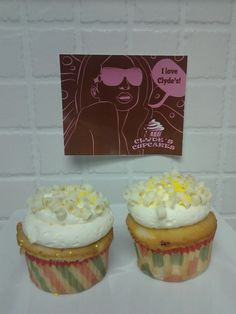 This is such a tasty vanilla treat! Come get them while you have the chance!