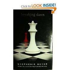 Breaking Dawn is the fourth and final novel in Stephenie Meyer's hugely popular Twilight saga. With all the hype surrounding the release of Breaking Dawn I doubt that there is anyone left on the planet that isn't aware of the books publication! I Love Books, Great Books, Books To Read, My Books, Amazing Books, Edward Cullen, Twilight Saga Books, Twilight Movie, Stephanie Meyers