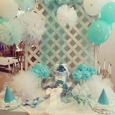 Tifany blue baby shower!
