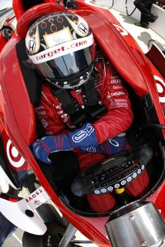 Scott Dixon getting ready to practice for the 2012 Indy 500. #IndyCar