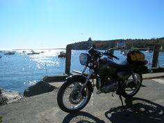 Moto13's TUX - coast of Maine