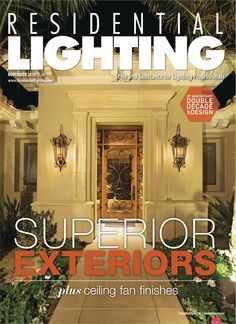 Corbett Lighting's Tangiers lanterns grace the cover of our November 2012 issue, which can be viewed in a digital edition here: http://editiondigital.net/publication/?i=133446