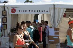 The Ballsy Wild Kombucha bar @ Wanderlust Festival, Sydney www.wildkombucha.com