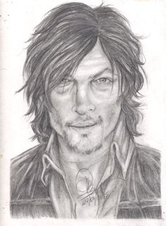 "Daryl Dixon - Norman Reedus ""The Walking Dead"""