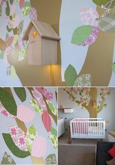 Dormitorio infantil armonioso y elegante