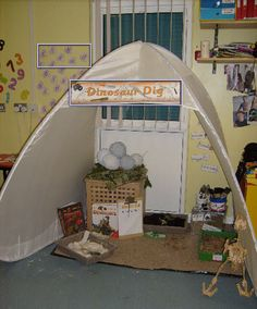 Dinosaur Dig Classroom Role-Play Area Photo - SparkleBox