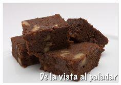 De la Vista al Paladar: Brownie al vapor