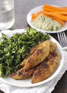 Gluten and Dairy Free Ranch Tenders | http://www.worthcooking.net/simple-pan-fried-tenders/