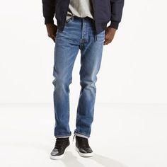 Levi's 501 Original Fit Stretch Jeans - Men's 32x34