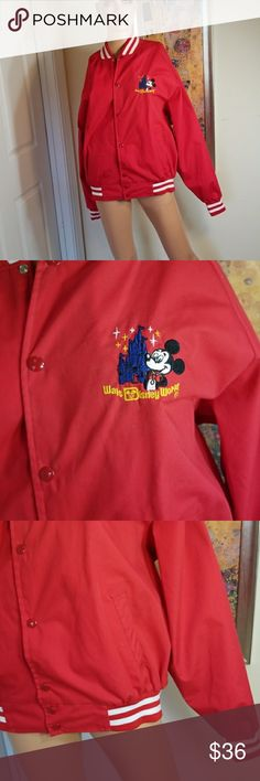 ⚘3/$50⚘VINTAGE DISNEY MINNIE MOUSE 70S JACKET Excellent condition.  ⚘3 for $50⚘- Bundle any 3 items marked 3 for $50 and offer $50  See mannequin listing for size reference.   Also CHECK OUT my  🦄5 for $15🦄, 💋3 for $24💋 🦄3 for $50🦄 &♥️10 for $10♥️ SALE!  Why SHOP MY Closet? 💋Smoke/ Pet Free 💋OVER 1000 🌟🌟🌟🌟🌟RATINGS 💋POSH AMBASSADOR &TOP 10% Seller  💋TOP RATED 💋 FAST SHIPPER  💋BUNDLES DISCOUNT 💋EARN VIP DOLLARS W/ EVERY PURCHASE ❤HAPPY POSHING!!! 💕 Disney Jackets & Coats