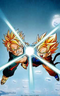 Dragon Ball Z wallpapers, Download free Dragon Ball Z hd wallpaper Gohan And Trunks Fusion at www.freecomputerdesktopwallpaper.com/Dragon_Ball_Z_Gohan_And_Trunks_freecomputerdesktopwallpaper.shtml
