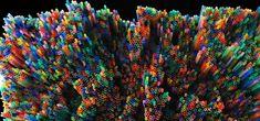 3D Straw Art Produces Beautiful Multi-Colored Layers - My Modern Metropolis