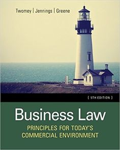 Solution manual for cornerstones of financial accounting 1st edition test bank business law principles for todays commercial environment 5th edition by twomey fandeluxe Image collections