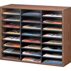 Corrugated Fiberboard, Literature Organizer, Mail Sorter, Laminate Colours, School Furniture, Types Of Lettering, Business Furniture, Drawer Organisers, Desk Accessories