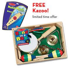 Band in a Box Value Set with FREE Kazoo | Toy Value Sets | Melissa and Doug