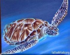 Turtle Tattoos   Sea Turtle - Tattoo Artists.org