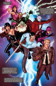 Justice League Dark; DC Comics New 52; John Constantine, Zatanna, Deadman
