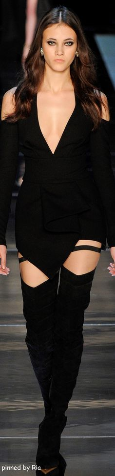 Alexandre Vauthier Spring 2016 Couture l Ria
