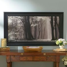 Winter Is Coming Framed Art Print | Kirklands