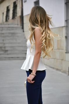 62 Best Ombre Hair Color Ideas for 2015 - 2016 - Styles Weekly Best Ombre Hair, Ombre Hair Color, Blonde Ombre, Ombre Style, Hair Colors, Hair Color Quiz, Blonde Ends, Blonde Color, Colours
