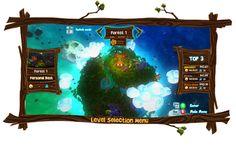 Atakapu's Select level menu
