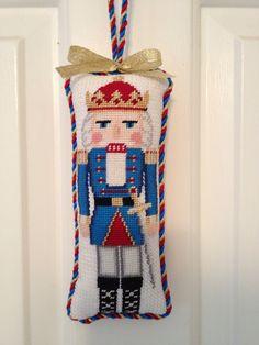 Susan Roberts needlepoint nutcracker ornament