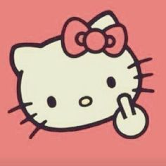 Hello Kitty says it best