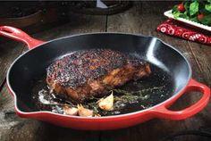 Classic Pan-Seared Ribeye Steak Recipe Provided By Certified Angus Beef ®