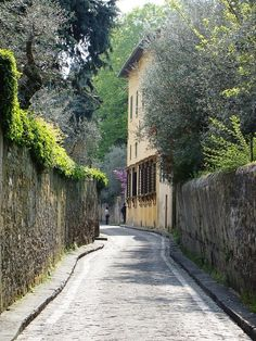 """Tuscany  sounds lovely...rolling hills, cypress lined drives, ancient ruins, olive groves, pasta """"al dente"""", gelato, cappuccino, a morning stroll, cobblestone streets, church bells ringing, sunshine, peace, fine food, Tuscan countryside, vineyards"""