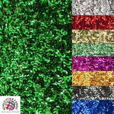 Silver BY THE YARD SHINY DRESS DECOR SCALE SEAWEED SEQUINS MESH FABRIC