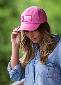 The Original Texas Tactical Hat - Pink Edition is the perfect way to show your Texas pride! This hat was designed by military veterans, and is proudly made in Texas.