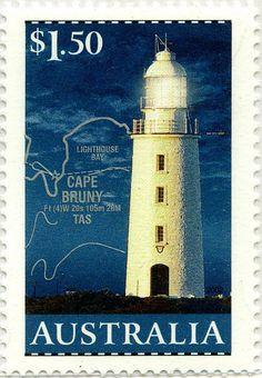 Faros de Australia: Faro Cape Bruny(1838) Australia, 2002