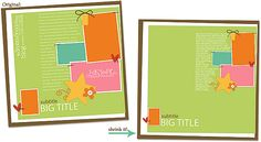 GREAT tips on changing up templates and making them a bit of your own!