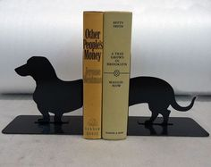 Funny Dachshund Bookend. #dachshund #bookend