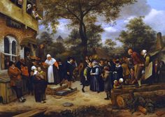 steen - The National Museum of Western Art Village Wedding Undated  Jan Steen  (1770×1263)
