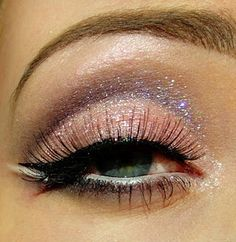 Shimmery Plum & Pink - Makeup Ideas (like the Burlesque Christina makeup!)