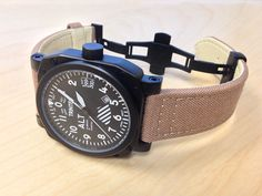 ZULU-03 - 9060VW Altimeter Aviator Wrist Watch w/ non leather strap suggestion! Looks great!