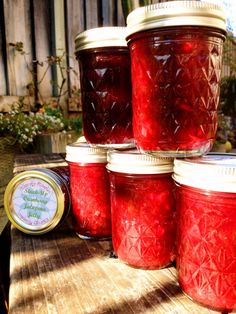 Stuck-Up Cranberry Jalapeno Jelly studded with Candied Ginger Crafted ...