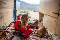 Creature Comforts and Other Van-Warming Items Diy Daybed, Diy Sofa, Shelving Design, Storage Shelving, Pallet Furniture Designs, Diy Furniture, Campervan Bed, Fold Out Beds, Camper Beds