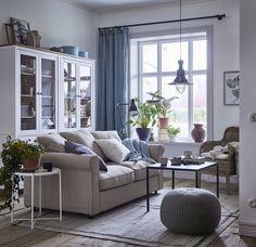SANDARED poef | IKEA IKEAnl IKEAnederland inspiratie wooninspiratie interieur wooninterieur bank kleed kast boekenkast lamp hanglamp poef tafeltje plant hangplant pot gordijn