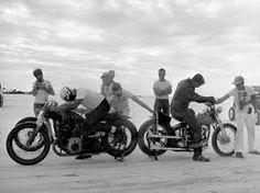 Image result for vintage bobber photos
