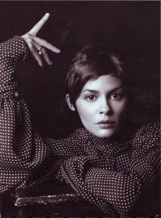Audrey Tautou.. andd the shirt is amazeballs.