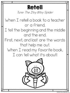 PA Conference Recap & Retelling Song Freebie! - Miss DeCarbo