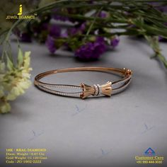 The sterling silver bracelets have actually been popular amongst ladies. These bracelets are readily available in different shapes, sizes and styles. Gold Bangle Bracelet, Diamond Bracelets, Sterling Silver Bracelets, Jewelry Bracelets, Gold Bangles, Braclets Gold, Silver Earrings, Gold Jewellery Design, Gold Jewelry