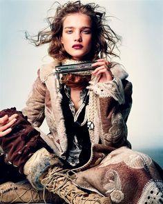 Natalia Vodianova - Inspiration for Photography Midwest | photographymidwest.com | #photographymidwest #pmw