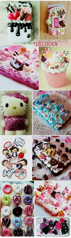 Decoden is love...except the one direction, these are lovely!