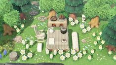 """""""updated these areas to the light theme i'm keeping throughout my island! Island Theme, Motifs Animal, Animal Crossing Game, Island Design, New Leaf, Zebras, My Animal, Farm Animals, Qr Codes"""