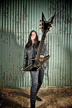 Testament guitarist Eric Peterson