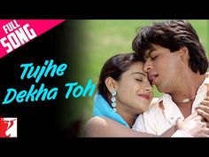 (6) Tujhe Dekha Toh - Full Song | Dilwale Dulhania Le Jayenge | Shah Rukh Khan | Kajol - YouTube
