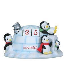 Another great find on #zulily! Igloo Advent Calendar Figurine #zulilyfinds